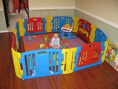 baby play gate areas - Google Search