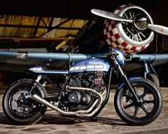 Johnny's Yamaha SR500 cafe racer