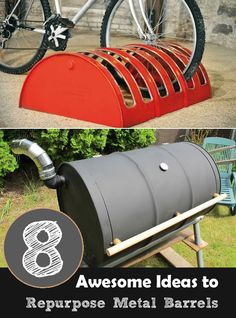 8 ingenious ideas how to use your old barrels and to make a awesome creation for your home.