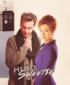 And only Alex Kingston could have amazing chemistry with a 26 year old and a 55 year old.  Moffett, you've broken our hearts enough, just give us this one!