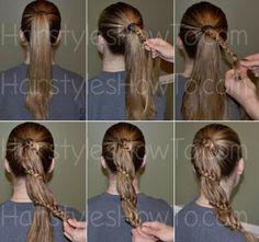 #tbt Carousel braid tutorial Beauty Tips For Skin, Beauty Hacks, Hair Beauty, Diy Hairstyles, Her Style, Hair Goals, Hair Inspiration, Your Hair, Hair Makeup