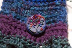 Woodland Fairy Wrist Cuff  Crochet Wrist Cuff  by DeidreDreams, €25.95