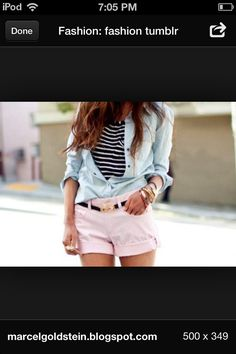 Cute outfit . It would be a good outfit for like a hot day and your out with your frendz ; )