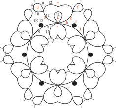 Heart doily by Iris Tatting; free downloadable pattern Shuttle Tatting Patterns, Needle Tatting Patterns, Crochet Patterns, Crochet Doilies, Knit Crochet, Mad Tatter, Needle Tatting Tutorial, Tatting Lace, Lace Making