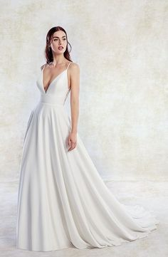 Courtesy of Eddy K Wedding Dresses; www.eddyk.com #weddinginspiration