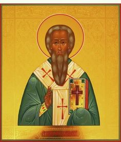 Saint Leo the Wonderworker, Bishop of Catania in Sicily 20 March Orthodox Christianity, Catania, Sicily, Leo, Saints, February, Icons, Painting, Symbols