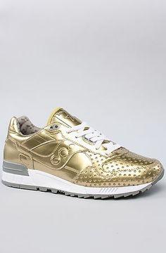 Saucony sneakers metallic gold❤