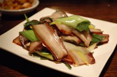 Who knew chinese bacon!  Best thing I've eaten in a while