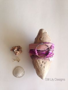 Wrap bracelet handmade with sari silk, vintage kimono silk, hand forged metal and a spot of lace..www.stilllily.etsy.com Forging Metal, Sari Silk, Vintage Kimono, Handmade Bracelets, Lily, My Style, Orchids, Lilies