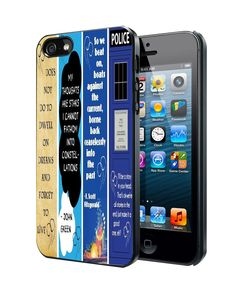 Dr Who Great Gatsby the Fault in Our Stars Harry Potter iPhone 4 4S 5 5S 5C Case