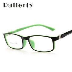 Ralferty Kids Optical Glasses frame For Child Boy Girls Myopia Eyeglasses Frames With 0 Degree Lenses Plain Mirror Oculos 8804