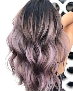 Newest Pics Ombre Hair lavender Suggestions Wild hair colouring trends come and. - Newest Pics Ombre Hair lavender Suggestions Wild hair colouring trends come and go, yet we would d - Grey Ombre Hair, Best Ombre Hair, White Hair, Pastel Ombre Hair, Dyed Hair Ombre, Neon Hair, Dye Hair, Violet Hair, Lilac Hair