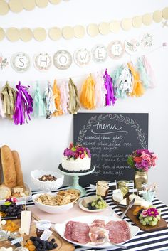 French Themed Baby Shower (via @Jen Lula-Richardson) www.jenloveskev.com