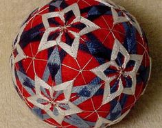 Temari means Handball. A Highly valued gift symbolizing deep friendship and loyalty. Brightly colored threads with the Recipient a Brilliant and