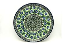 Polish Pottery Plate  Dinner 10 12  Sweet Violet -- Find similar products by clicking the image