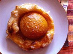 Wessels Küchenwelt: Pfirsich-Blätterteig-Teilchen