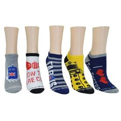 OTS NCAA Mens Venom Low Cut Ankle Sock