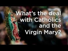 Mary in 2 Minutes--Ever wonder what the big deal is with Catholics and the Virgin Mary? Do they worship her or just pray to her? What's the Annunciation? What's the Immaculate Conception? What's the Assumption? All these questions and more answered in this short two (okay, three) minute video.