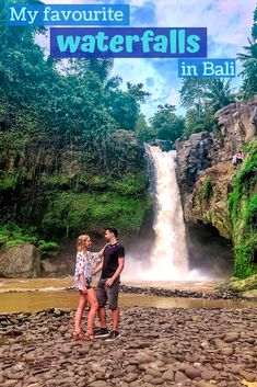 Bali has so many beautiful waterfalls that it is difficult to choose between them. Therefore, I am sharing my favourite waterfalls in Bali and what you need to know before visiting these waterfalls. Bali Travel Guide, Travel Advice, Asia Travel, Travel Tips, Travel Guides, Bali Waterfalls, Beautiful Waterfalls, Waterfalls Photography, Amazing Destinations