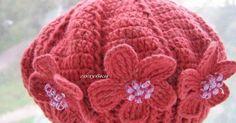 Crochet hat | Hats, mitts & scarves | Pinterest | Berets, Crochet Beret and Crochet