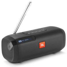 JBL Tuner Portable Bluetooth Speaker With DAB/FM Radio – Black Radios, Cool Bluetooth Speakers, Loa Bluetooth, Latest Hits, Dab Radio, Usb, Radio Stations, Traditional, 8 Hours