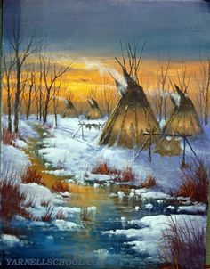 Native American Survival tips that stand up the test of time for hundreds of years and able to deal with every threats nature thrust at them. The thorough guide to teaching you hunting,fishing, fighting, making survival tools, medical treatments and more. Native American Teepee, Native American Paintings, Native American Pictures, Native American Beauty, American Indian Art, American Indians, Indian Artwork, Indian Paintings, Abstract Paintings
