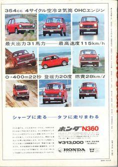 Honda N360 - adv