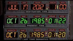 The date to which Michael J. Fox's Marty McFly and Christopher Lloyd's Doc Brown time-travel in the 1989 film 'Back to the Future II' is upon us. Marty Mcfly, Doc Brown, Film Mythique, Non Plus Ultra, Future Days, Great Scott, Bttf, Lydia Martin, Small World