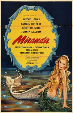 """""""MIRANDA""""  (1948) GLYNIS JOHNS, GOOGIE WITHERS"""