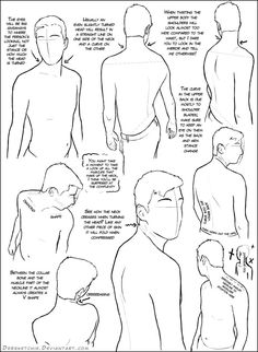 A quick look at the details in creating a looking-over-the-shoulder pose for the male figure