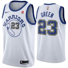 e8a074eb901 ... golden state warriors nike dri fit mens draymond green 23 swingman  hardwood classic jersey