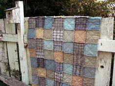 Heirloom 3 Homespun Cotton Fat Quarter Quilt