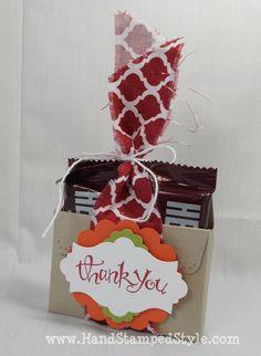 Scallop Envelope Treat Box- www.handstampedst...