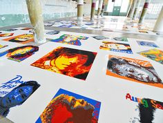 Chinese artist Ai Wei Wei exposes LEGO portraits of political prisoners to Alcatraz