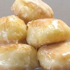Homemade Krispy Kremes Donut Holes