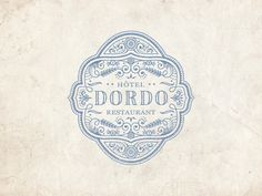 Dordo logo by JC Desevre. Super detailed logos don't usually do it for me but this one is pretty sweet.