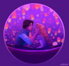 Flynn and Rapunzel by andells Disney Wiki, Disney Fan Art, Disney And Dreamworks, Disney Pixar, Disney Characters, Story Characters, Rapunzel Story, Rapunzel And Eugene, Disney Tangled