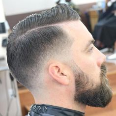 Combover With Fade For Thin Hair