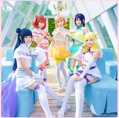 Love Live! Sunshine Aqours Dia Chika Hanamaru Kanan Mari Ohara Riko Sakurauchi Ruby Yoshiko You Love aquarium cosplay costume-in Clothing from Novelty & Special Use on Aliexpress.com | Alibaba Group