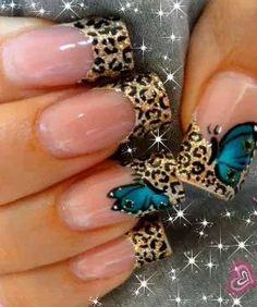 Mariposa Butterfly Nail, Ideas Para, Nail Art Designs, Dj, Pretty, Beauty, Beautiful, Butterflies, Finger Nails