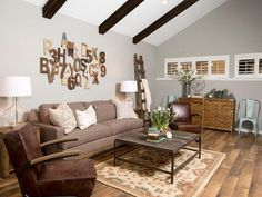 Rustic Living Room Ideas – A rustic living room decor exudes a natural charm. It is often a mixture of rural and ethnic flavor and combines culture and traditions that are different for each country. However, there are certain characteristics of country style a lot of natural materials...