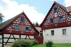 Doubrava, example of Western Bohemia architecture.