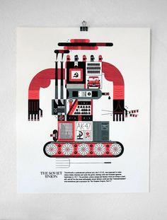New Prints by Raymond Biesinger