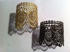 Utopia elena.k Lace Cuffs