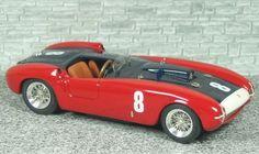 Ferrari 375 MM Spyder Pininfarina 2th Buenos Aires 1955 #8 - Alfa Model 43