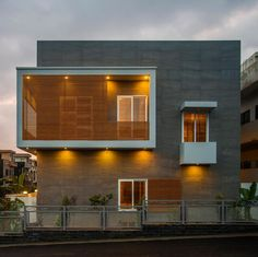 Contemporary Residence At Paragon City Lahore   Marla House - 5 marla house design exterior