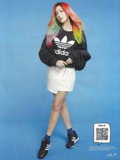 Jessica Jung for Adidas Originals 2016