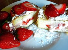 """Strawberry Stuffed French Toast!  Oh my, now THAT's what I call """"breakfast""""!!!  ;)"""