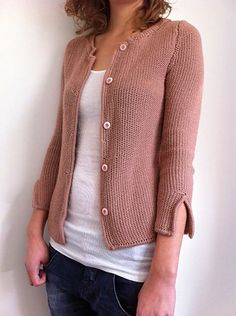 Ravelry: Project Gallery for Veste #26 T9-533 pattern by Phildar Design Team