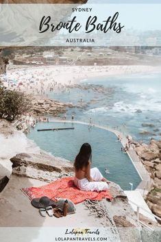 Bronte Baths Sydney - Perfect Swimming Pool By The Ocean Perth, Brisbane, Melbourne, Australia Tourism, Australia Travel Guide, Visit Australia, Queensland Australia, Western Australia, Australia Trip